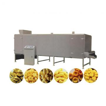 Snacks Corn Curls Cereals Food Making Extrusion Production Machine Line