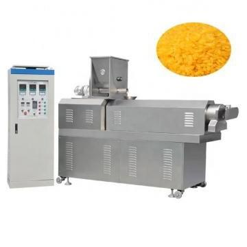 Chinese Food Fried Flour Snacks Double Screw Extruder Making Machine
