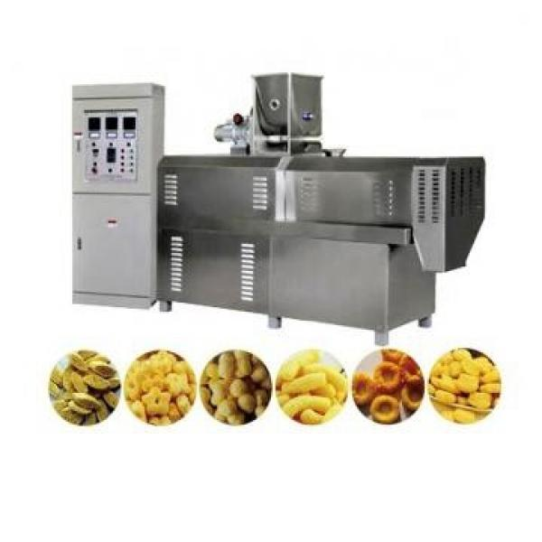 Hot Selling Corn Flakes Bulking Equipment Breakfast Cereal Extruder Baked Corn Snacks Machine Processing Plant #1 image