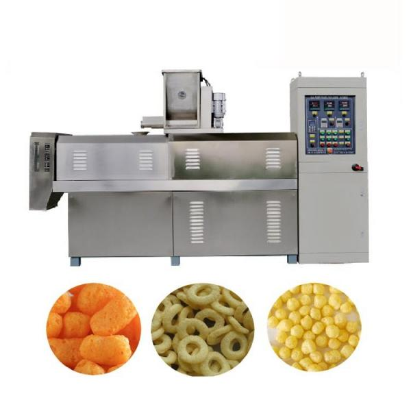 Small Manufacturing Snack Food Extruded Machine #1 image