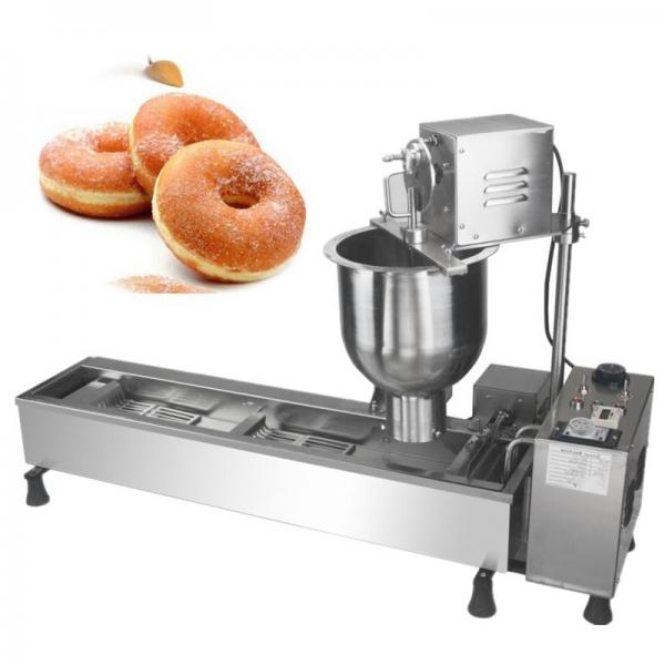 Continuous Nut Frying Production Line Snacks Coated Peanut Brittle Production Line #1 image